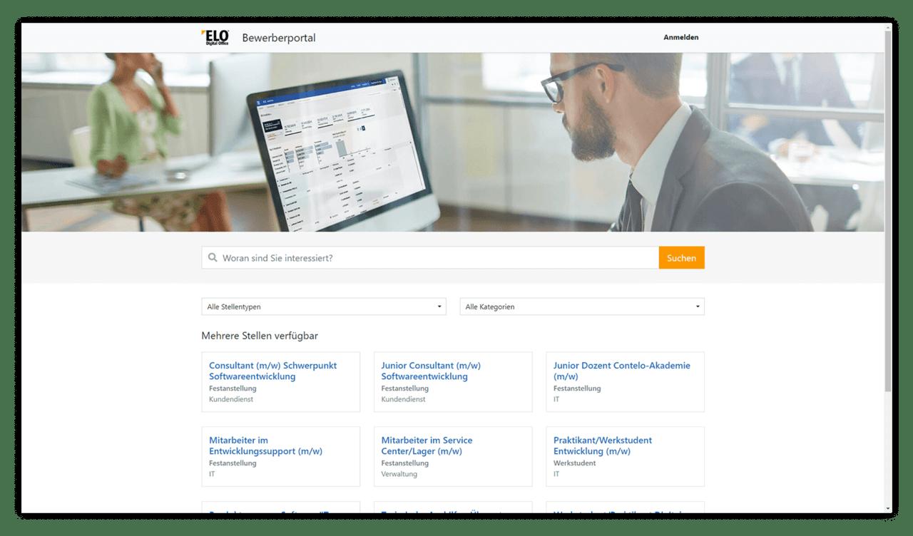ELO Business Solution – Správa uchádzačov oprácu – ELO HR Recruiting